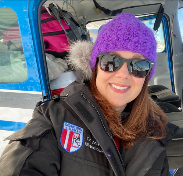 Dr. Jodie Guest at Iditarod